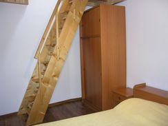 Ladder to the Third Bedroom